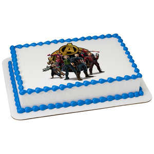 McArthur's Bakery Custom Cake with Avengers, Infinity Wars Scan