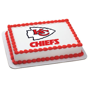 Fantastic Kansas City Chiefs Cake Birthday Cards Printable Opercafe Filternl