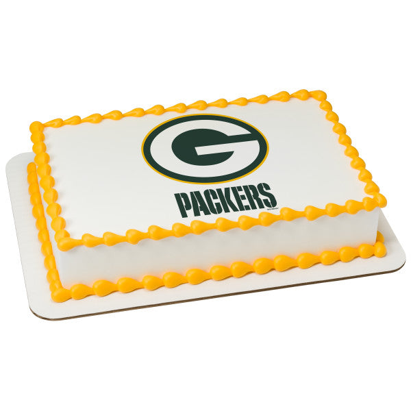 McArthur's Bakery Custom Cake With Green Bay Packers Logo