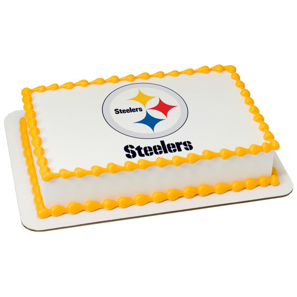 McArthur's Bakery Custom Cake With Pittsburgh Steelers Logo