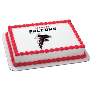 McArthur's Bakery Custom Cake With Atlanta Falcons Logo