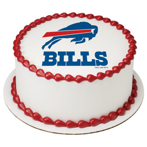 McArthur's Bakery Custom Cake With Buffalo Bills Logo