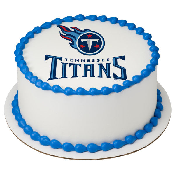McArthur's Bakery Custom Cake With Tennessee Titans Logo