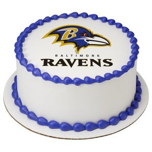 McArthur's Bakery Custom Cake With Baltimore Ravens Logo