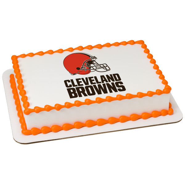 McArthur's Bakery Custom Cake With Cleveland Browns Logo