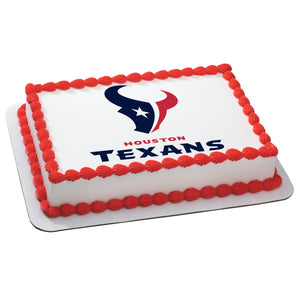 McArthur's Bakery Custom Cake With Houston Texans Logo