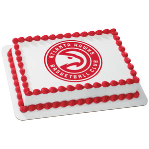 McArthur's Bakery Custom Cake with Atlanta Hawks Cake