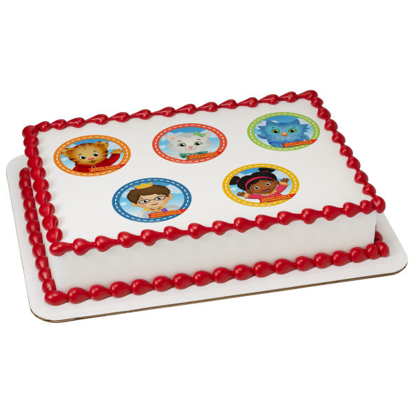 McArthur's Bakery Custom Cake with Daniel Tiger Theme