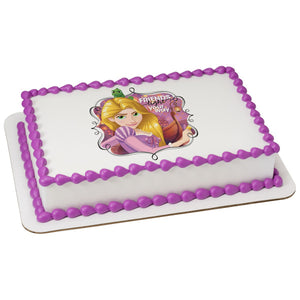 MaArthur's Bakery Custom Cake with Rapunzel Tangled Scan