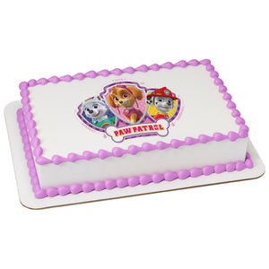 MaArthur's Bakery Custom Cake with Paw Patrol, Skye, Everst, Marshall Scan