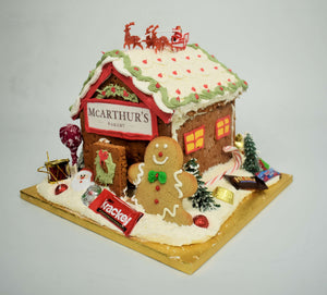 Company Logo Gingerbread House