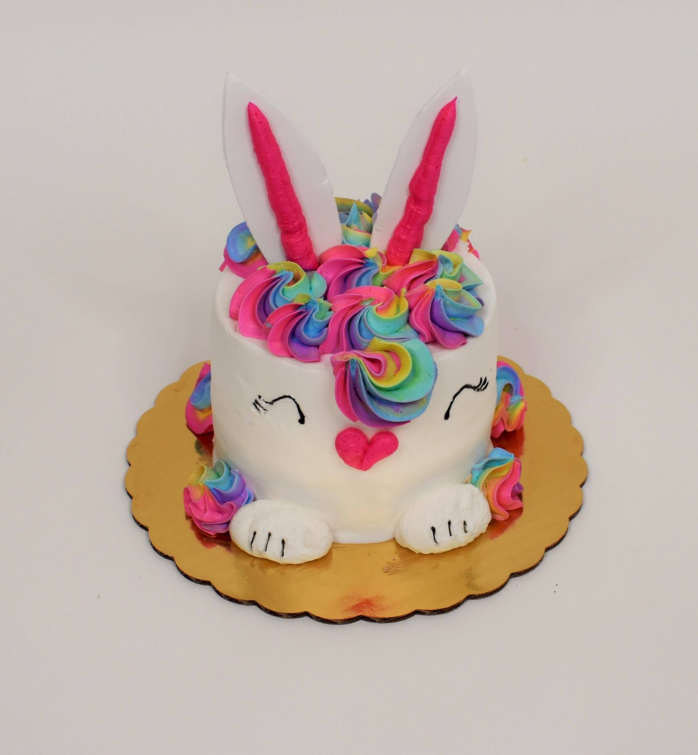 McArthur's Bakery Party Cake of a colorful Easter Bunny