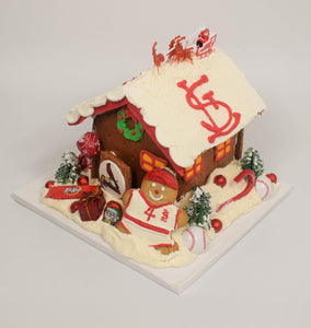 St. Louis Cardinals Gingerbread House