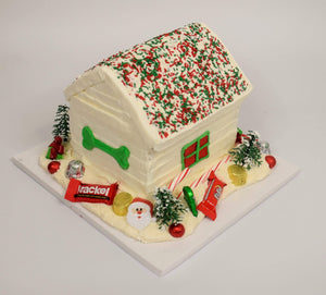 Doghouse Gingerbread House