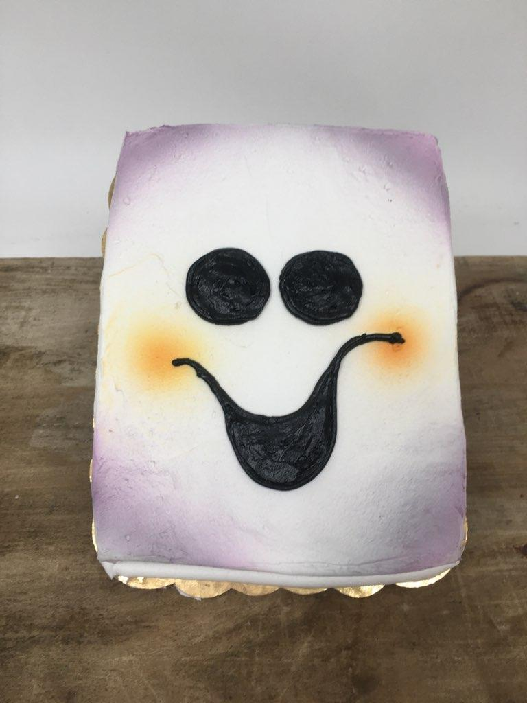 Happy Ghost Cake