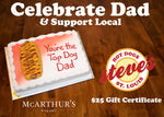 You're The Top Dog Cake with $25 Gift Certificate