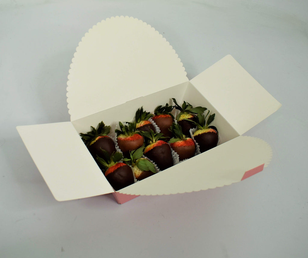 Large Chocolate Strawberry Gift Box (10-12 Strawberries)