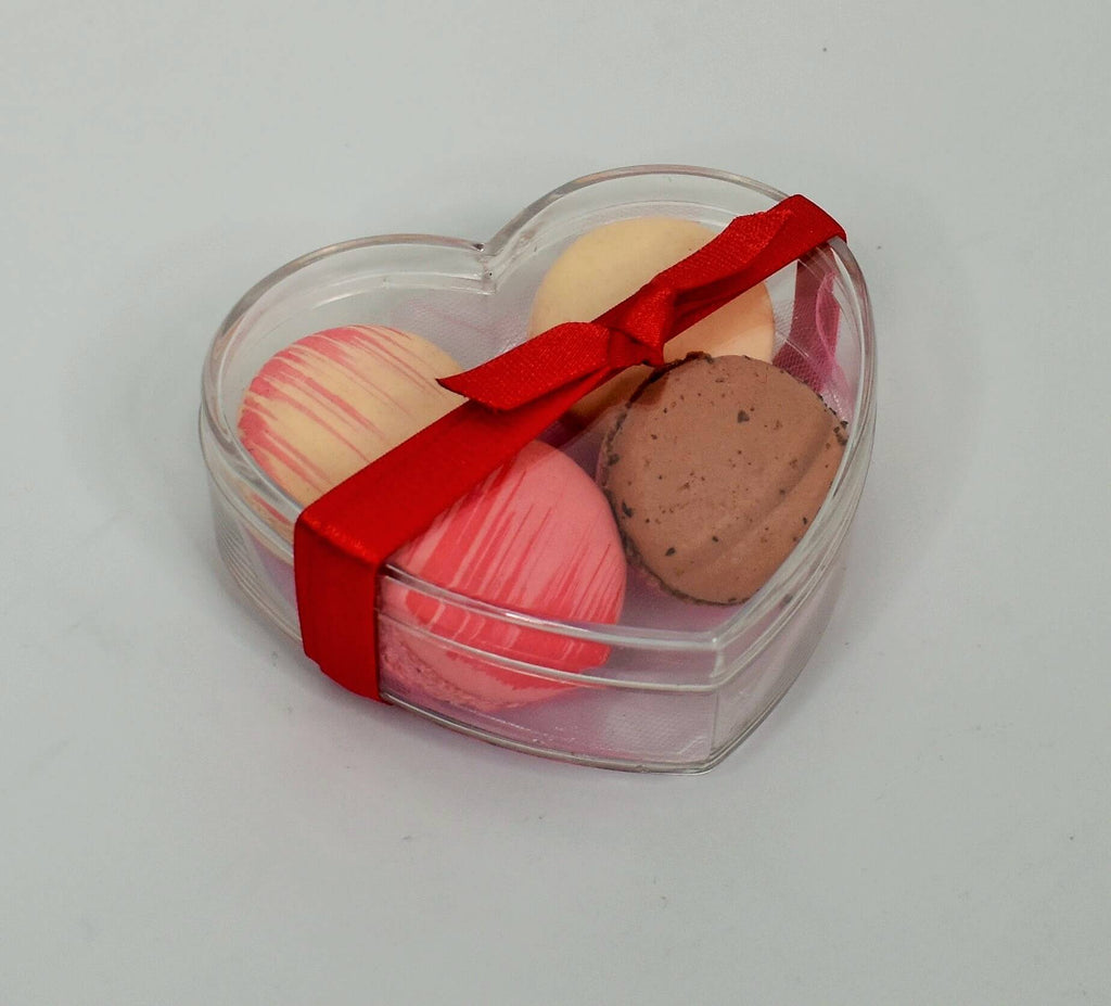 Macaron Gift Box (Assorted 4 pack)