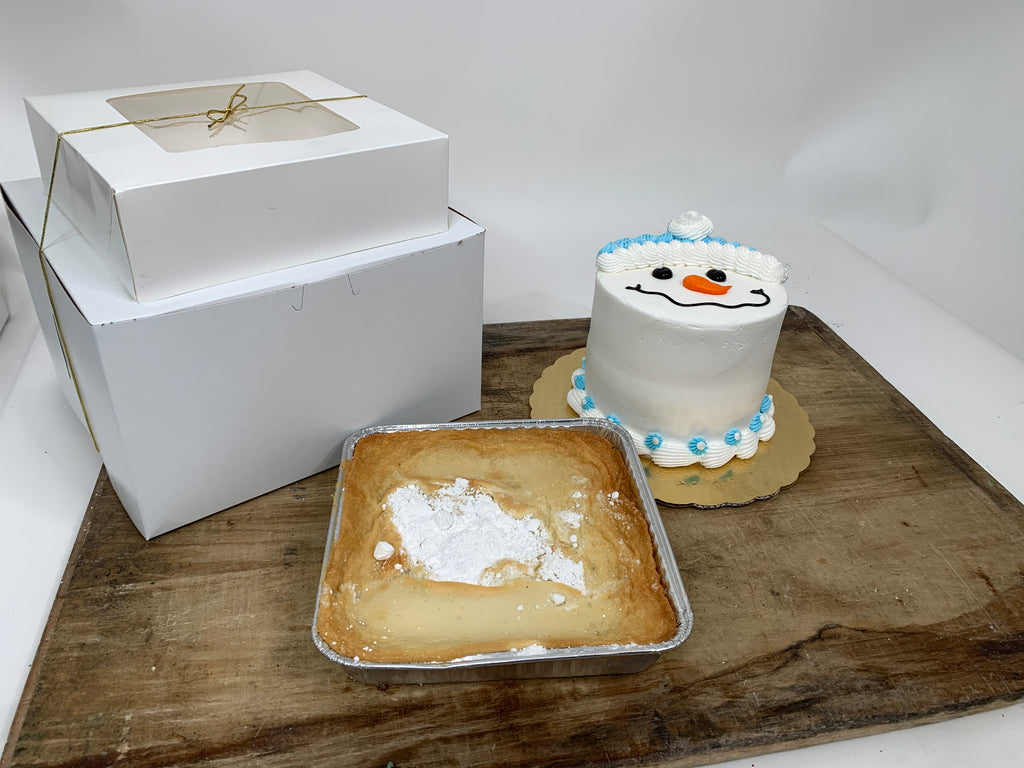 Winter Thinking of You Set - Cake