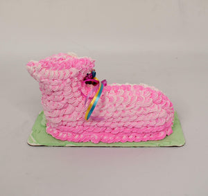 Strawberry Easter Lamb Cake