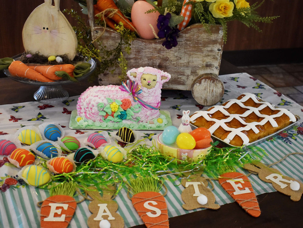 Easter Family Bundle - Strawberry Lamb Cake