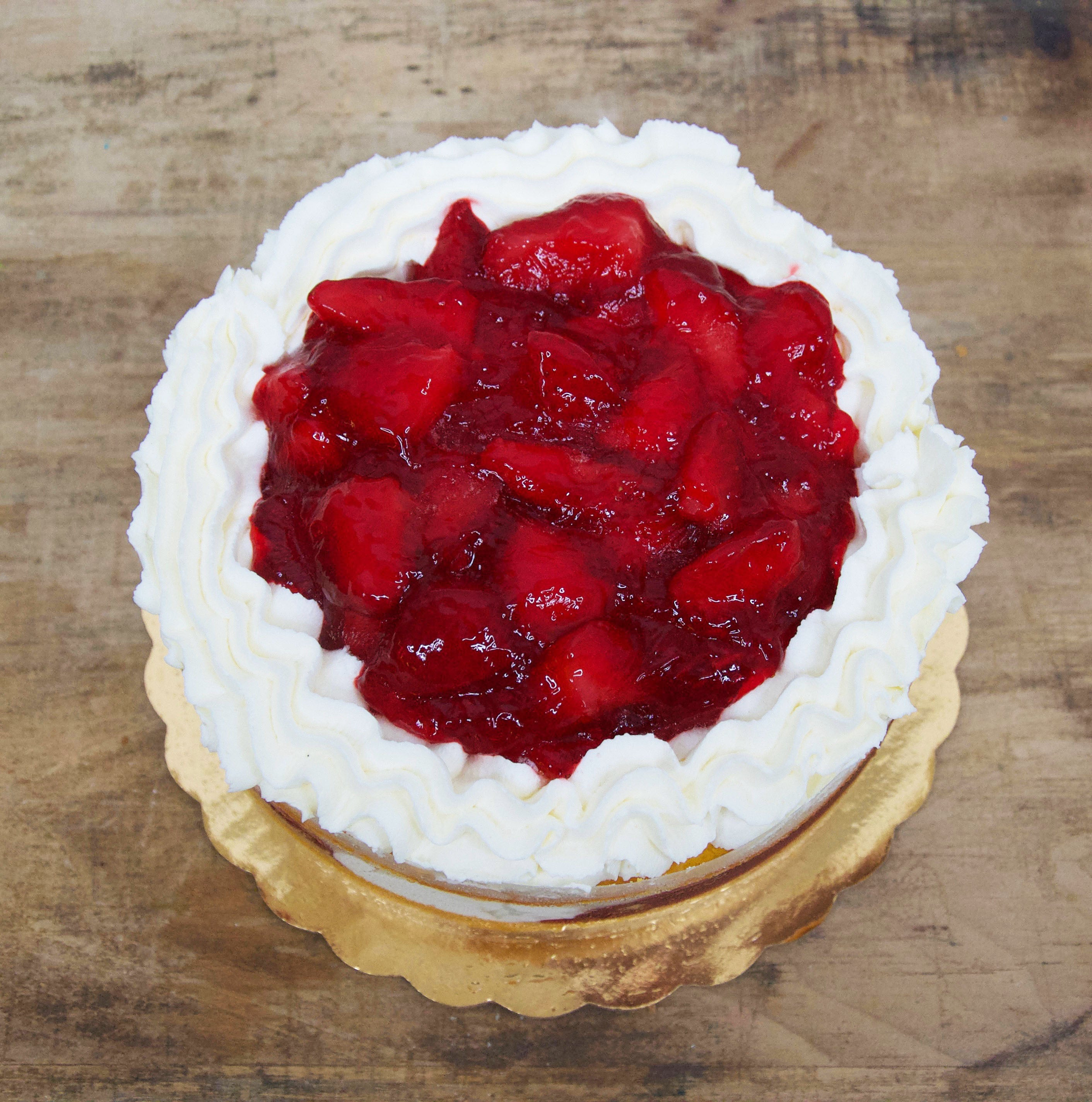 McArthur's Bakery Strawberry Whipped Cream Cake