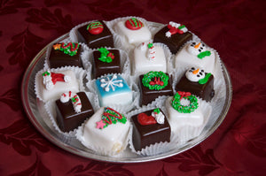 Christmas Petifor Tray (Tray of 15)
