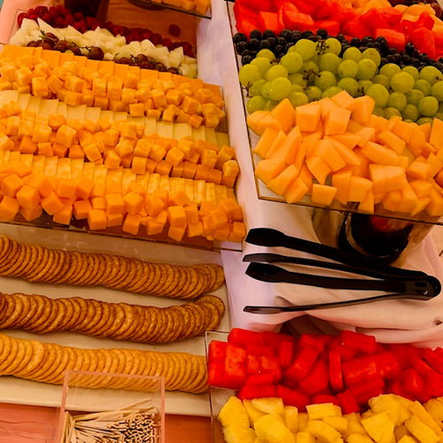 Fruit & Cheese Tray Buffet