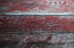 Aged Red Reclaimed Barn wood photography backdrop 2 ft x 3 ft board 3 mm thick 3 planks of wood