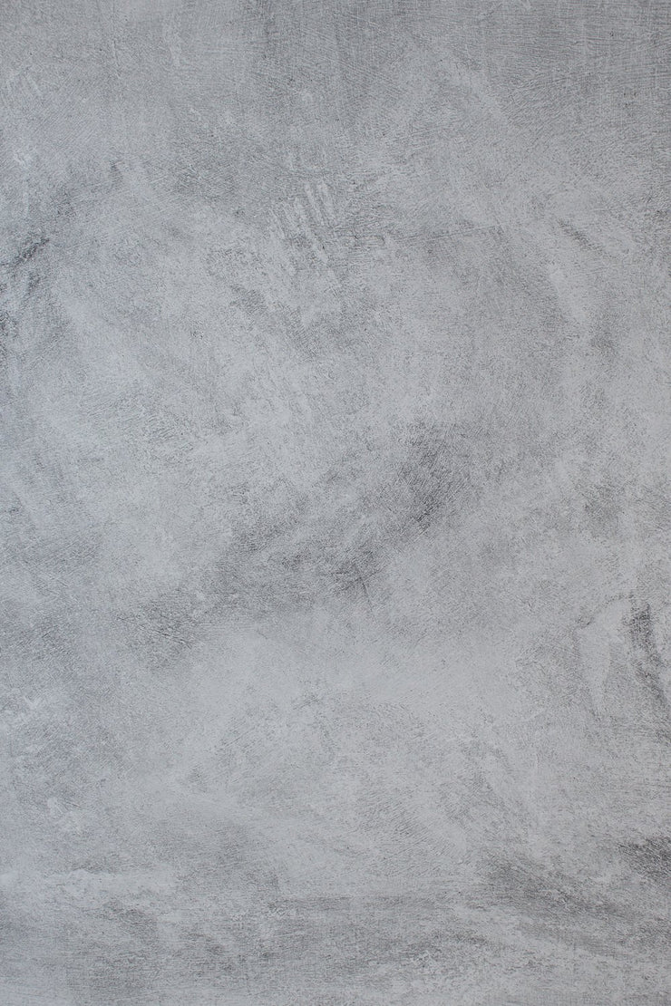 Super-Thin & Pliable Abstract Concrete Photography Backdrop 2 ft x 3 ft | Lightweight, Moisture & Stain-Resistant