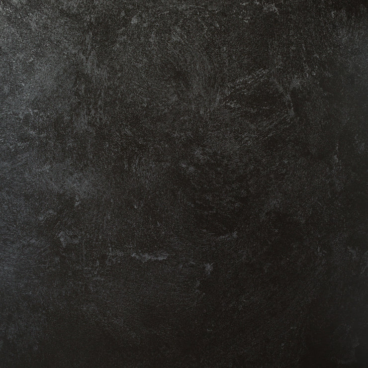 20-inch x 20-inch Black Textured Paint Photography Backdrop 3 mm thick Physical Board, Lightweight, Moisture & Stain-Resistant