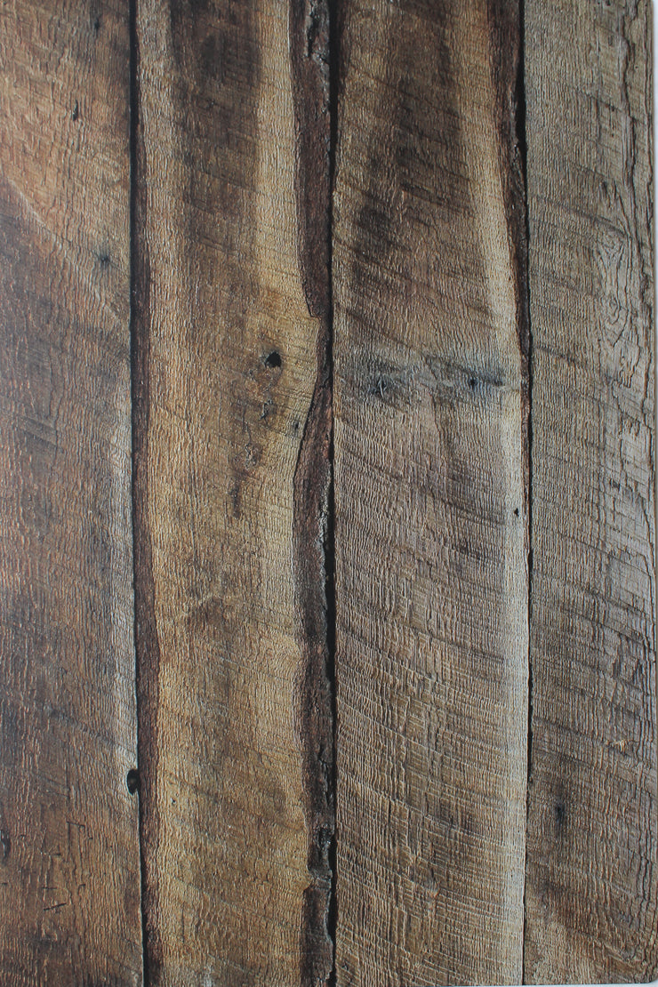 Dark Brown Reclaimed Barn Wood Replica Photography Backdrop 2 ft x 3ft board