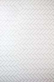 Super-Thin & Pliable Chevron Tile Replica Photography Backdrop 2 ft x 3ft, Lightweight, Moisture & Stain-Resistant