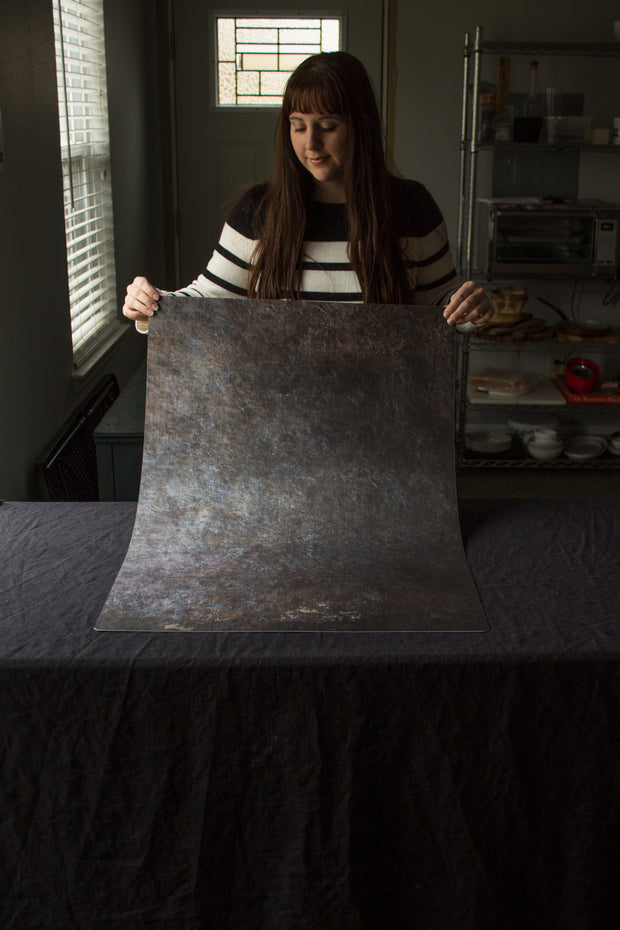 Super-Thin & Pliable Cookie Sheet Photography Backdrop 2 ft x 3 ft, Lightweight, Moisture & Stain-Resistant behind the scenes