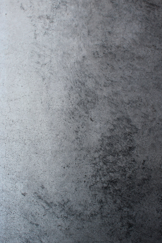 Super-Thin & Pliable Gray Concrete Photography Backdrop 2 ft x 3 ft, Lightweight, Moisture & Stain-Resistant