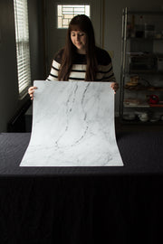 Super-Thin & Pliable Marble Backdrop Board for Photography 2 ft x 3ft, Lightweight, Moisture & Stain-Resistant behind the scenes