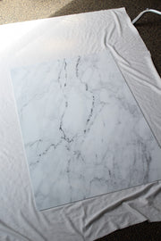 Marble Backdrop Board for Photography 2 ft x 3ft | 3 mm thick board behind the scenes