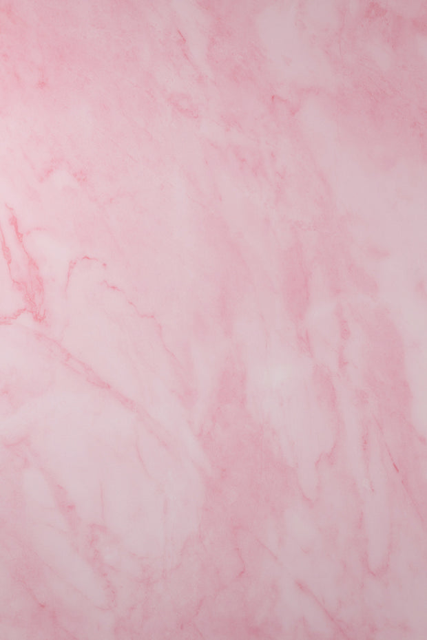 Super-Thin & Pliable Pink Marble Photography Backdrop 2 ft x 3 ft, Lightweight, Moisture & Stain-Resistant