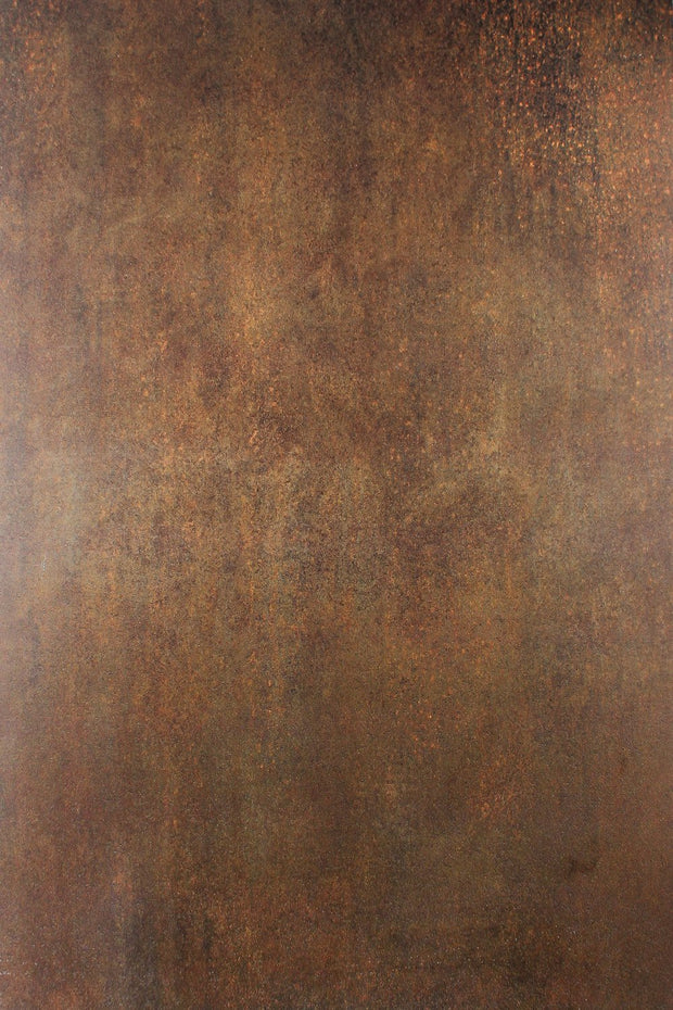 Super-Thin & Pliable Rusty Metal Photography Backdrop 2 ft x 3ft, Lightweight, Moisture & Stain-Resistant