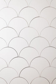 Super-Thin & Pliable Scalloped Tiles Replica Photography Backdrop 2 ft x 3 ft board