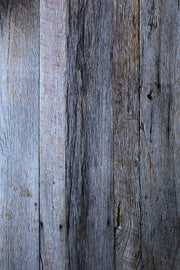 Silver Blue & White Reclaimed Wood Photography Backdrop 2 ft x 3 ft board | 3 mm thick