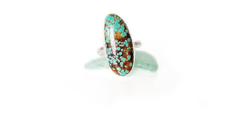 Turquoise ring, size 8.75