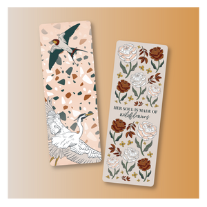 Bookmark Set - Flora Wings
