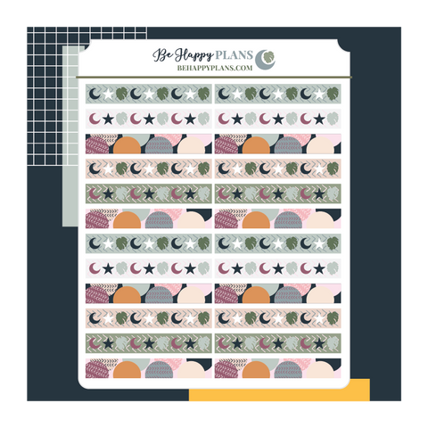 Mini Washi Strip Stickers