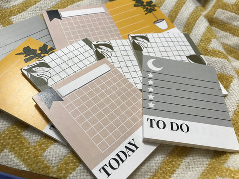Multi Design Mini Notepad