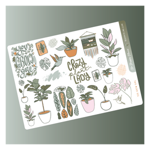 You Grow Girl Deco Sheet