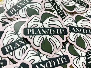 Plan(t) it! Vinyl Decals
