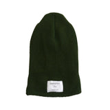 2-Way Folded Beanie | Olive Green