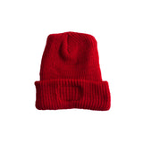 2-Way Folded Beanie | Varsity Red