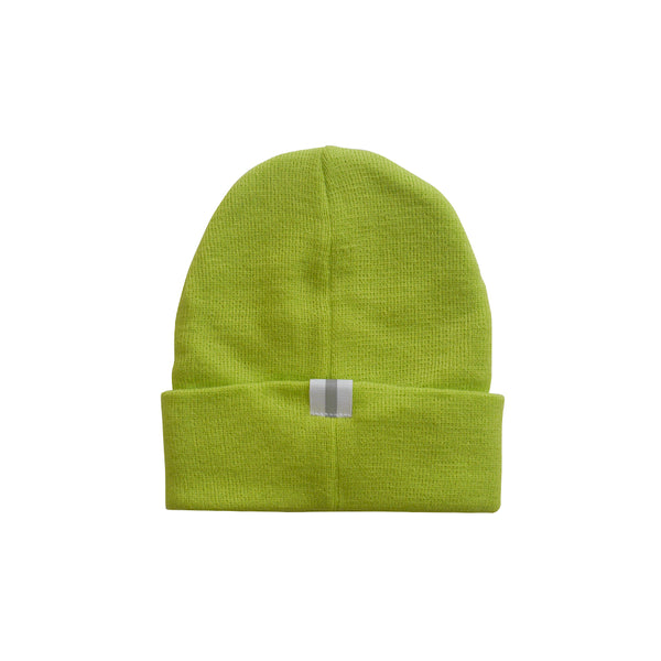 2-Way Folded Beanie | Volt Yellow